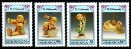 Dominica Nº 1453/56 Nuevos - Dominica (1978-...)