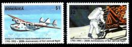 Dominica Nº 1527/28 Nuevos - Dominica (1978-...)