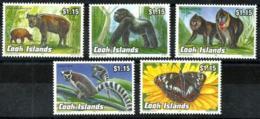 Cook Nº 1077/81 Nuevos - Islas Cook