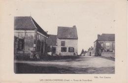 61 - ORNE - LES CROIX -CHEMINS - ROUTE DE PARIS BREST - Sin Clasificación
