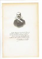 HENRY DEUTSCH DE LA MEURTHE 1846 LA VILLETTE 1919 ECQUEVILLY INDUSTRIEL PORTRAIT AUTOGRAPHE BIOGRAPHIE ALBUM MARIANI - Documenti Storici