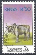 Kenya,1995 Cattle (Bos Primigenius Indicus), 14.50sh # S.G. 638 - Michel 613 - Scott 638 USED - Kenya (1963-...)
