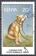 Kenya,1995  Dog (Canis Lupus Familiaris), 20sh # S.G. 640 - Michel 615 - Scott 640 USED - Kenya (1963-...)