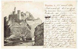 VIANDEN - Vue Prise De La Route De Hosingen - Cachet De Service Vianden-Diekirch - Vianden