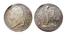 LOUIS XVI Écu De 6 Livres N°2 1792 A (Paris) Type François - 987-1789 Monnaies Royales