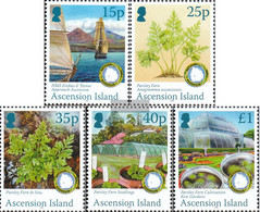 Ascension 1126-1130 (complete Issue) Unmounted Mint / Never Hinged 2011 Petersilienfarn - Ascension