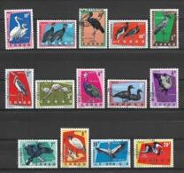 Congo 1963 - Birds - Republik Kongo - Léopoldville (1960-64)
