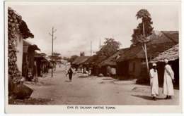 TANZANIA - DAR ES SALAAM NATIVE TOWN - Vedi Retro - Formato Piccolo - Tanzania