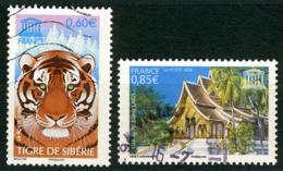N°YT 134-135 - UNESCO 2006 - Service
