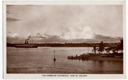 TANZANIA - THE HARBOUR ENTRANCE, DAR ES SALAAM - Vedi Retro - Formato Piccolo - Tanzania