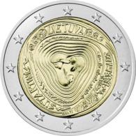 """LITUANIA  2€ 2.019  2019  BIMETÁLICA   """"SUTARTINÉS""""  SC/UNC    T-DL-12.314 - Lituania"""