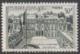 France  Neuf  Sans Charnière 1959  Palais De L' Elysée   YT 1192 - Frankreich