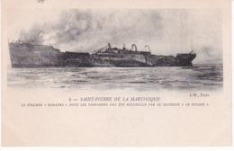 BATEAU PAQUEBOT ROROIMA(SAINT PIERRE DE LA MARTINIQUE) - Paquebots