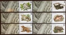 Jersey 2017 Darwin Fauna Birds Reptiles Animals MNH - Stamps