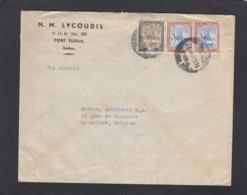 LETTRE DE PORT SOUDAN POUR BRUXELLES. - Soudan (...-1951)