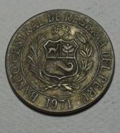 1971 - Pérou - Peru - UN SOL DE ORO - KM 248 - Peru