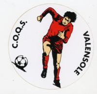AUTOCOLLANT : C.O.O.S. VALENSOLE (9 CM) - Autocollants