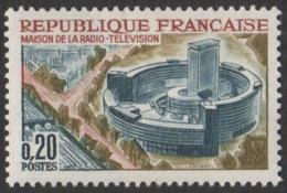 France  Neuf  Sans Charnière 1963 Maison De La Radio Et De La Télévision Communication   YT 1402 - Francia