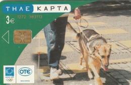 GRECIA. Guide Dog. 08/2003. X1689. (170). - Perros