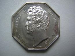 JETON ARGENT - LOUIS PHILIPPE I - 1834 - QUO NON HAC DUCE - Monarchia / Nobiltà