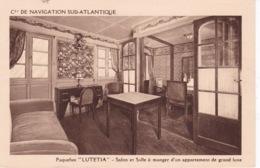BATEAU PAQUEBOT LUTETIA - Piroscafi
