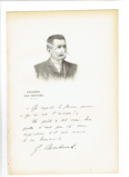 GUILLAUME CHASTENET 1858 SAINT MEDARD DE GUIZIERES 1933 PARIS POLITIQUE PORTRAIT AUTOGRAPHE BIOGRAPHIE ALBUM MARIANI - Historical Documents