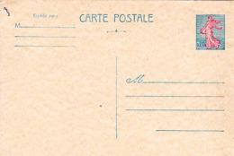 FRANCE Entier Postal Neuf  Semeuse De Piel 1960 - Postal Stamped Stationery