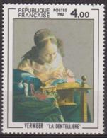 Art, Peinture - FRANCE - Vermeer: La Dentellière - N° 2231 ** - 1982 - Nuevos