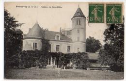 Cpa       Pontlevoy   Chateau De Saint Gilles      BE - France