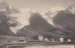 """CHAMONIX  """"74"""" __ VILLAGE ET  GLACIER DES BOSSONS - Chamonix-Mont-Blanc"""