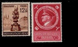 Deutsches Reich 886 - 887 Fulda / Hitler MNH Postfrisch ** Neuf - Deutschland