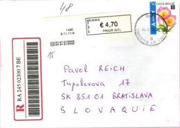 Belgie R Letter 2011 ... Ak563 - Belgium
