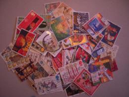 GRANDE BRETAGNE  LOT DE 100 TP OBLITERES TOUS DIFFERENTS - Collections
