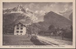 """CHAMONIX  """"74"""" __    ROUTE DU GLACIER DES BOSSONS ET MASSIF DU MONT-BLANC - Chamonix-Mont-Blanc"""