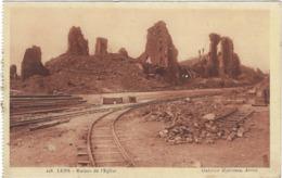 62 Lens Ruines De L'eglise - Lens