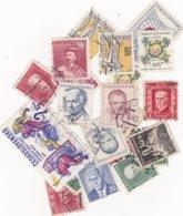 TCHECOSLOVAQUIE: 19 Timbres  Oblitérés - Tchécoslovaquie