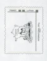 """PERSONNALISÉS - LOGO """"PATRIMOINE DE FRANCE EN TIMBRE"""" (ENTIER) -  N° Yvert  (PHILAPOSTE) OBLI;  LETTRE INTERNATIONAL 250 - France"""