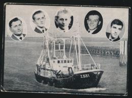SCHEEPSRAMP Z.531 SHAMROCK 9 AUG 1968 - ZIE NAMEN DOODSPRENTJE  2 AFBEELDINGEN - Overlijden