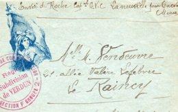 """CL- Série-  De L'Espérance -  """"  --!  """"-  ( N° 3 )- Verdun - - Marcophilie (Lettres)"""