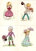 Lot 28 CPSM  - Illustrateurs Divers  -  - Edition Lyna PARIS - Dibujos De Niños