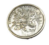 Bavière -  Allemagne - Médaille De  La Patrone De La Bavière  - Métal Argenté  - TB + - Professionals/Firms