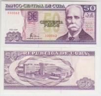 Cuba 50 Pesos 2009 Pick 123 UNC - Cuba