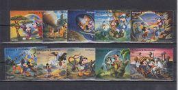 MWD-DSN004 MINT PF/MNH ¤ KOMPL. SET / BLOCK OR SHEET ¤ THE WORLD OF WALT DISNEY -- FRIENDS OF WALT DISNEY - Disney