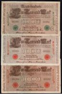 ALLEMAGNE: Bon Lot De 10 Billets. Date: 1910/1922 - Collections