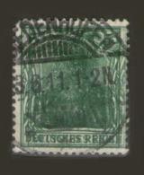 ALEMANIA REICH- Mi.85 DD - 2500 € - FIRMADO.N-12511 - Germany