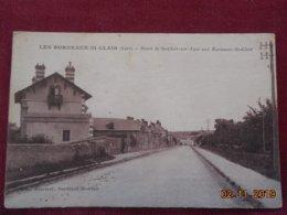 CPA - Les Bordeaux-Saint-Clair - Route De St-Clair-sur-Eypte Aux Bordeaux-St-Clair - Francia