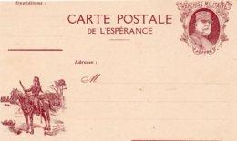 """CL- Série-  De L'Espérance -  """"  En Reconnaissance --  """"-  ( N° 6 )- - - Marcofilia (sobres)"""