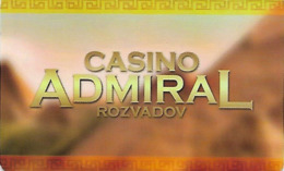 REPUBBLICA CECA KEY CASINO  ADMIRAL   -     Rozvadov - Cartes De Casino
