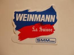 Autocollant Weinmann La Suisse. - Other