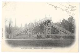 Cpa: 27 VERNEUIL SUR AVRE (ar. Evreux) Passerelle De La Guichardière - Ecole Des Roches 1902 - Verneuil-sur-Avre